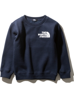 THE NORTH FACE/【KIDS】FRONTVIEW CREW/スウェット
