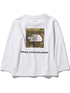 THE NORTH FACE/【KIDS】L/S B FRE CAMO TEE/カットソー/Tシャツ