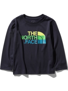 THE NORTH FACE/【KIDS】L/S TNF LOGO TEE/カットソー/Tシャツ