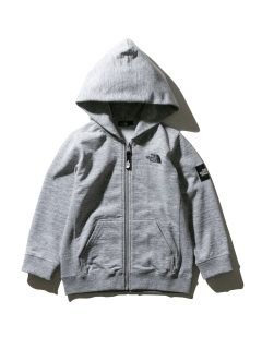 THE NORTH FACE/【KIDS】SQUARE LOGO F/Z/パーカー
