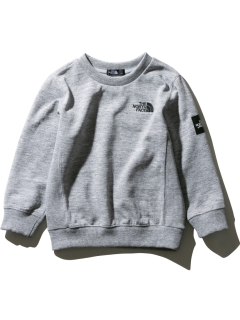 THE NORTH FACE/【KIDS】SQUARE LOGO CREW/スウェット