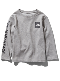 THE NORTH FACE/【KIDS】L/S SQUARE LOGO T/カットソー/Tシャツ