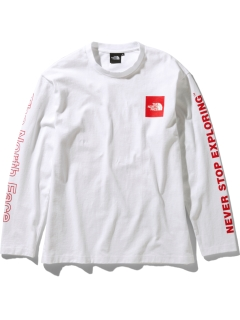 THE NORTH FACE/【UNISEX】L/S SLV GRP TEE/カットソー/Tシャツ