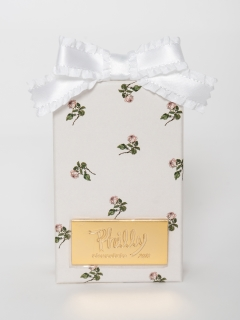 Philly chocolate/【USAGI ONLINE先行発売】mini rose box (white)/食品