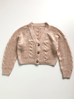 Philly chocolate/Mini cardigan/カーディガン