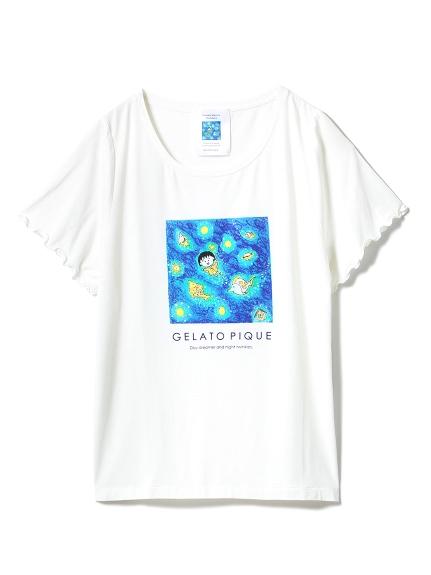 gelato pique【さくらももこ】プリントTシャツ(USAGI ONLINE公式)
