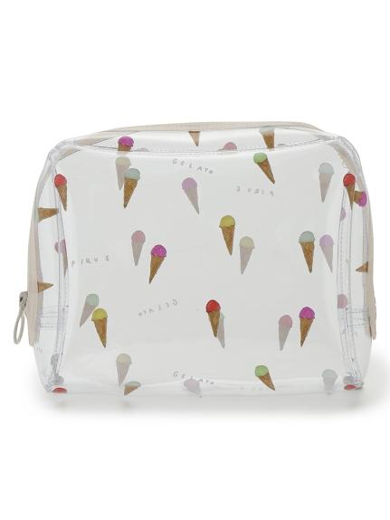 gelato pique アイスモチーフビニールBIGポーチ