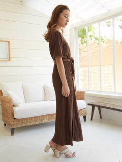 RANDEBOO/【USAGI ONLINE限定】Natural wrap gown/その他アウター