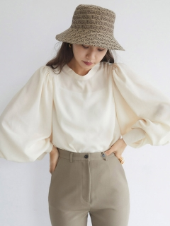 RANDEBOO/Volume sleeve blouse/シャツ/ブラウス