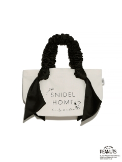 SNIDEL HOME/SNOOPYキャンバスバッグ SMALL/トートバッグ