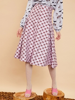 sister jane/Wild Horse Box Pleat Midi Skirt/膝丈/ミディ丈スカート