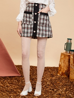 sister jane/Mini Skirt in Tweed/ミニスカート