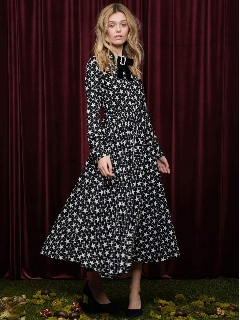 sister jane/Prints Charming Midi Dress/膝丈/ミディ丈ワンピース