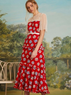 sister jane/Blooming Bess Maxi Dress/マキシ丈/ロングワンピース