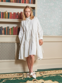 sister jane/Endeavour Midi Shirt Dress/膝丈/ミディ丈ワンピース