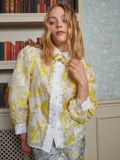 sister jane/Gloss Floral Blouse/シャツ/ブラウス
