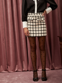 sister jane/Supper Club Tweed Mini Skirt/ミニスカート