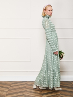 DREAM sisterjane/Daisy Lawn Maxi Dress/マキシ丈/ロングワンピース