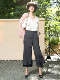 styling//Flare Slit Pants/その他パンツ