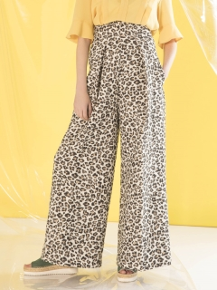 styling//Leopard High West Baggy Pants/その他パンツ