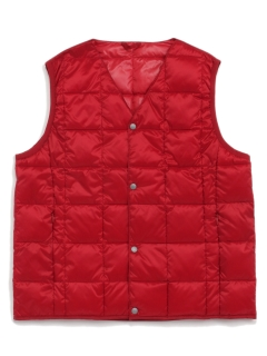 TAION/【KIDS】V NECK BUTTON DOWN VEST/ダウンジャケット/コート