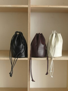 TODAYFUL/Leather Circle Purse/ハンドバッグ