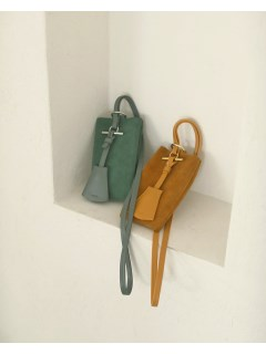 TODAYFUL/Suede Utility Pochette/ショルダーバッグ