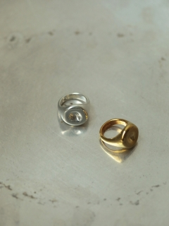 TODAYFUL/Circle Dent Ring/リング