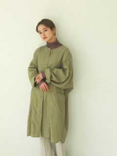 TODAYFUL/Nylon Rough Gown/チェスターコート