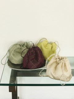 TODAYFUL/Satin Jacquard Purse/ハンドバッグ