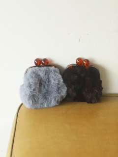 TODAYFUL/Gama Fur Purse/クラッチバッグ