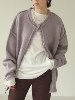 TODAYFUL/Lowgauge Knit Cardigan/カーディガン