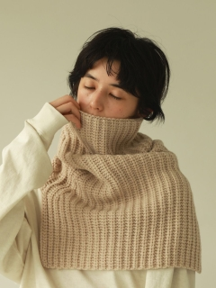 TODAYFUL/Volume Knit Neckwarmer/ストール/マフラー/スヌード