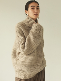 TODAYFUL/Mix Wool Knit/ニット