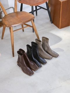 TODAYFUL/Stretch Leather Boots/ショートブーツ/ブーティ