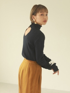 TODAYFUL/Piping Rib Tops/カットソー/Tシャツ