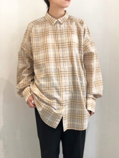 TODAYFUL/Check Hook Shirts/シャツ/ブラウス