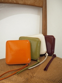 TODAYFUL/Leather Square Wallet/財布