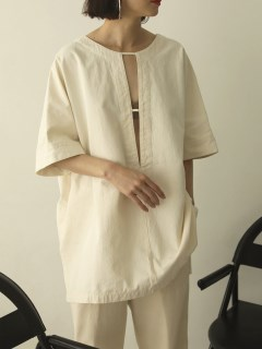 TODAYFUL/Cotton Pique Blouse/シャツ/ブラウス