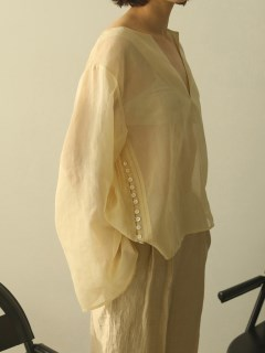TODAYFUL/Organdy Caftan Blouse/シャツ/ブラウス