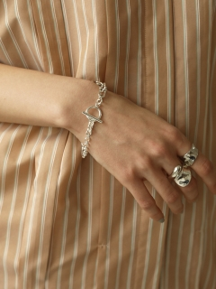 TODAYFUL/Multi Chain Bracelet (Silver925)/ブレスレット/バングル