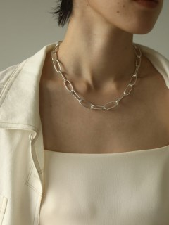 TODAYFUL/Oval Chain Necklace (Silver925)/ネックレス