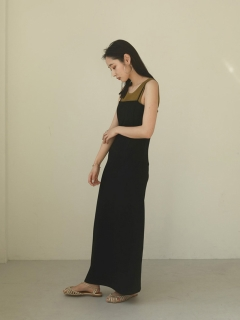 TODAYFUL/Pencil Camisole Dress/マキシ丈/ロングワンピース