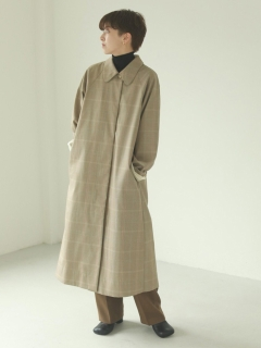 TODAYFUL/Soutiencollar Twill Coat/チェスターコート