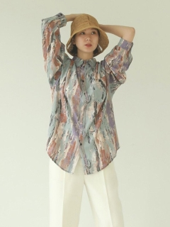 TODAYFUL/Paint Rough Shirts/シャツ/ブラウス