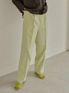 TODAYFUL/Pique Tuck Trousers/フルレングス