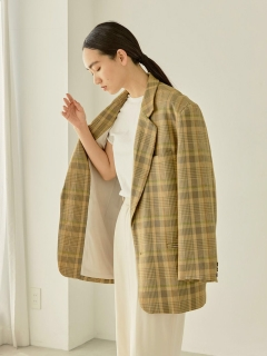 TODAYFUL/Check Over Jacket/テーラードジャケット/コート