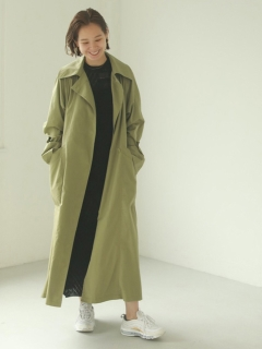 TODAYFUL/Tuck Over Trenchcoat/トレンチコート