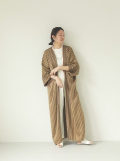 TODAYFUL/Stripe Jacquard Gown/その他アウター