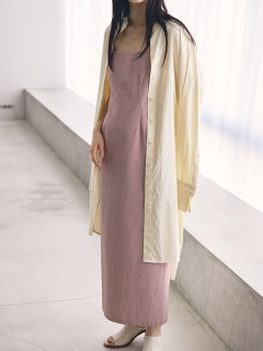 TODAYFUL/Standcollar Shirts Dress/膝丈/ミディ丈ワンピース